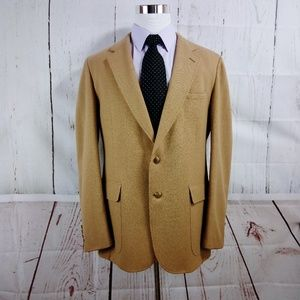 Cricketeer Furmans 43R Brown Suit Blazer Sports Co